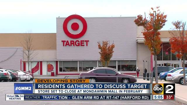 Forum To Discuss Closing Of Mondawmin Mall Target