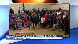 Good Morning from Gwynns Falls Elementary School