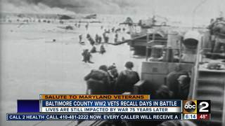 Baltimore County WW2 vets recall days in battle