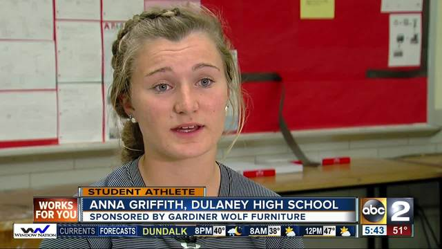 Student Athlete of the Week- Anna Griffith