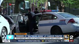 Baltimore Rising documentary to premiere on HBO