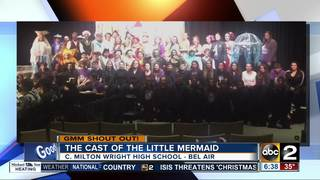 Good morning from the cast of The Little Mermaid