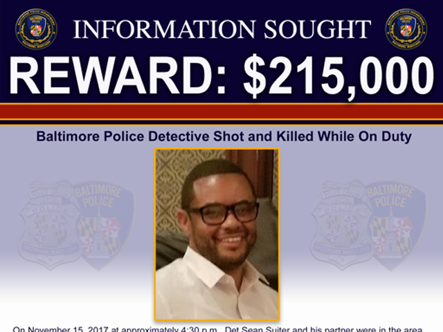 Manhunt for shooter of Baltimore detective enters 3rd day