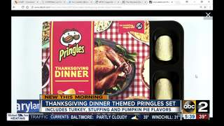 Pringles creates a Thanksgiving meal in chips