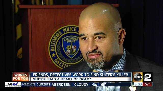 Suiter's colleagues continue search for killer