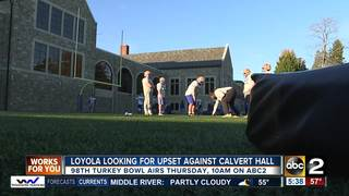 Loyola looking for upset in 98th Turkey Bowl