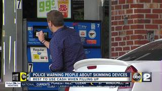 Be wary of skimmers on gas pumps this holiday