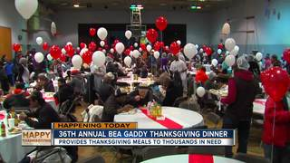 36th Bea Gaddy Thanksgiving dinner