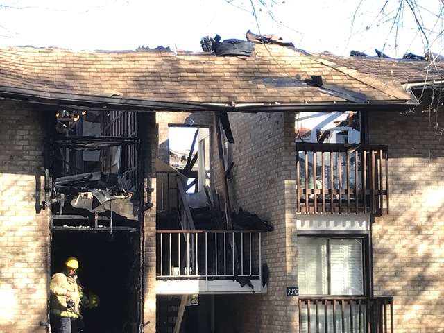 1 injured, 8 displaced by fire at Annapolis apartment complex