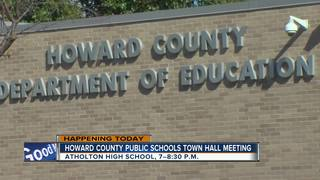 Interim superintedent at HCPS to host town hall