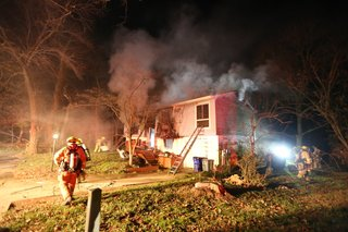 Fire crews save family in housefire in Columbia