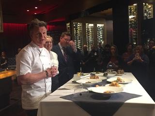 Celebrity chef Gordon Ramsay comes to Baltimore