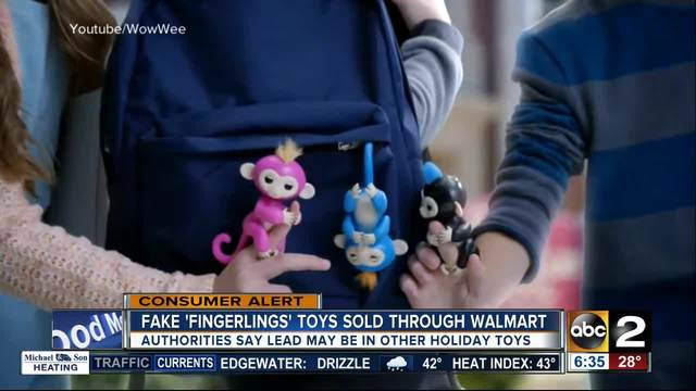 Fake Fingerlings Sold Through Walmart Could Be Dangerous