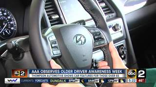 AAA teaches older drivers new technology in cars