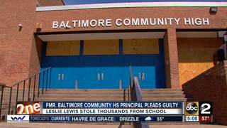 Fmr. principal pleads guilty to money theft