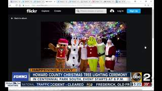 Christmas in the Park ceremony in Howard County