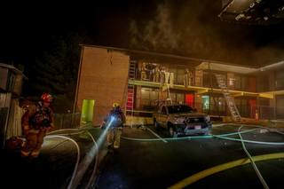 Motel room catches fire at Super 8 in Jessup