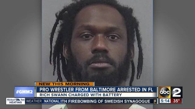 Update On Rich Swann Being Arrested