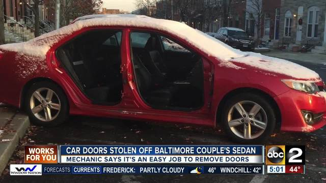 Mechanic Stolen Car Parts Could Be Worth Thousands More Than - Stolen car