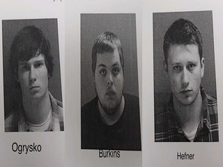 Suspects named after alleged firehouse assault