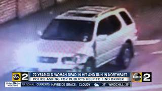 Woman, 72, killed in hit and run
