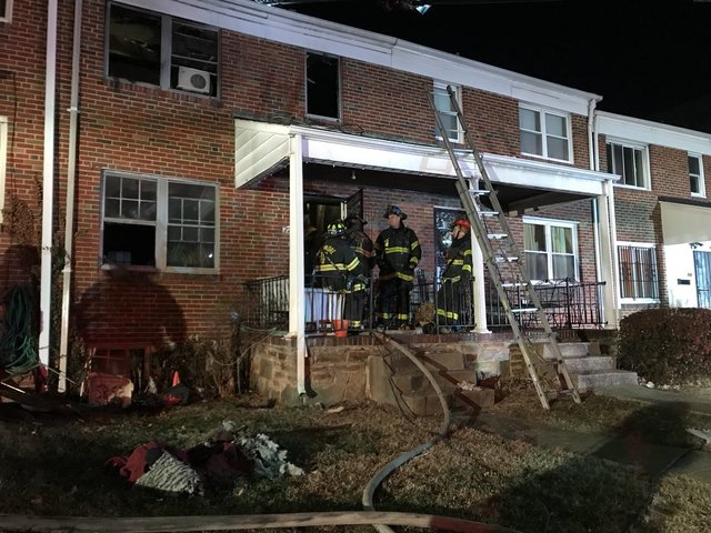 Woman, 4-year-old killed in Baltimore house fire