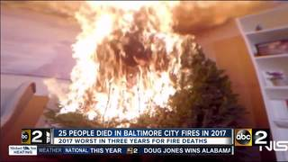 2017 worst year for fire fatalities