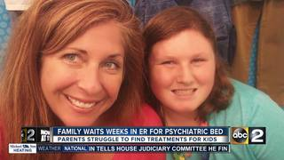 Md. family waits weeks in ER for psychiatric bed