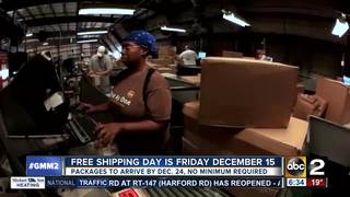 This Friday: 1,000 merchants offer free shipping