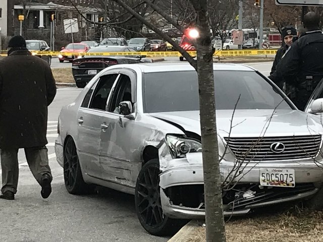 High-speed chase winds through Baltimore, 2 arrested