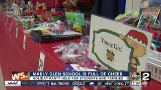 Marley Glen School holiday party for students