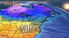 Milder Air to Start the Week
