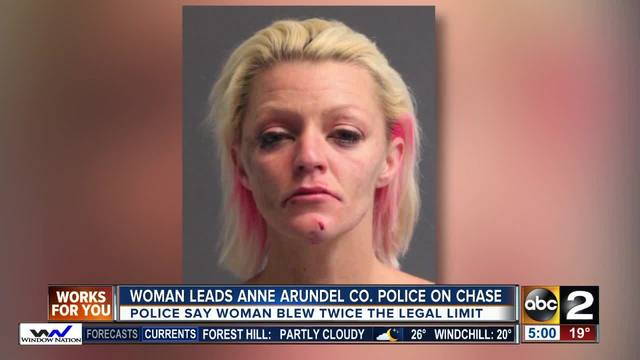 Woman arrested for DUI, crashing into police cruiser