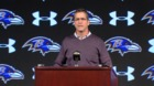 Ravens' Mornhinweg stays, Harbaugh recaps season