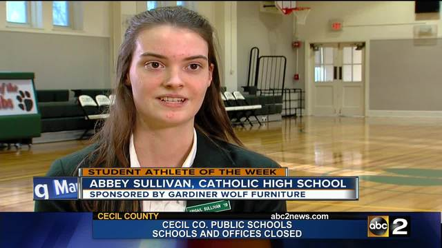 Student Athlete of the Week- Abbey Sullivan