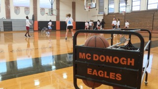 McDonogh Eagles girls hoops flying high again
