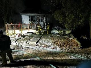 One displaced after fire destroys Finksburg home