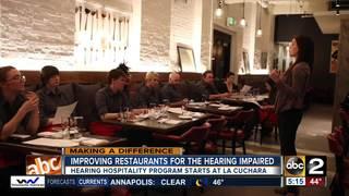 Improving restaurants for the hearing impaired