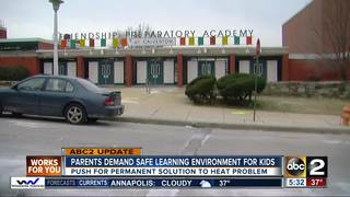 Parents demand fix to heating issue in schools