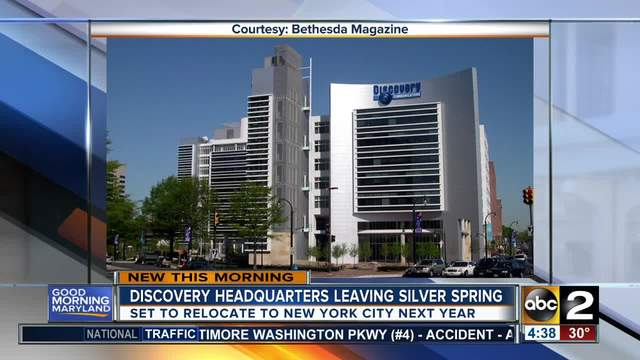 Discovery Channel Tells Employees It Is Moving Headquarters to NYC