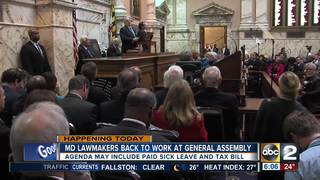 Lawmakers meet for first day of General Assembly
