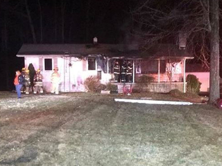 Porch fire ruled arson at a home in Joppa