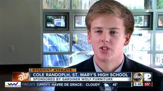 Student Athlete of the Week: Cole Randolph