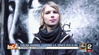Chelsea Manning confirms U.S. Senate run in Md.