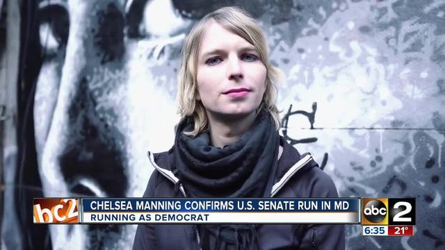 Chelsea Manning set to run for US Senate run in Maryland