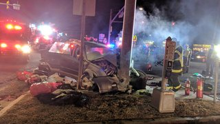 Police identify victim in fatal Route 40 crash