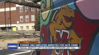 Fmr. UMD employee arrested in hate crime