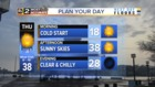 FORECAST: Cold Temps Ahead for Wednesday