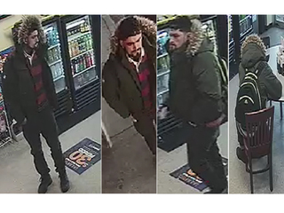 Man wanted for robbing a pizza shop