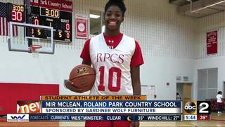 Student Athlete of the Week: Mir McLean